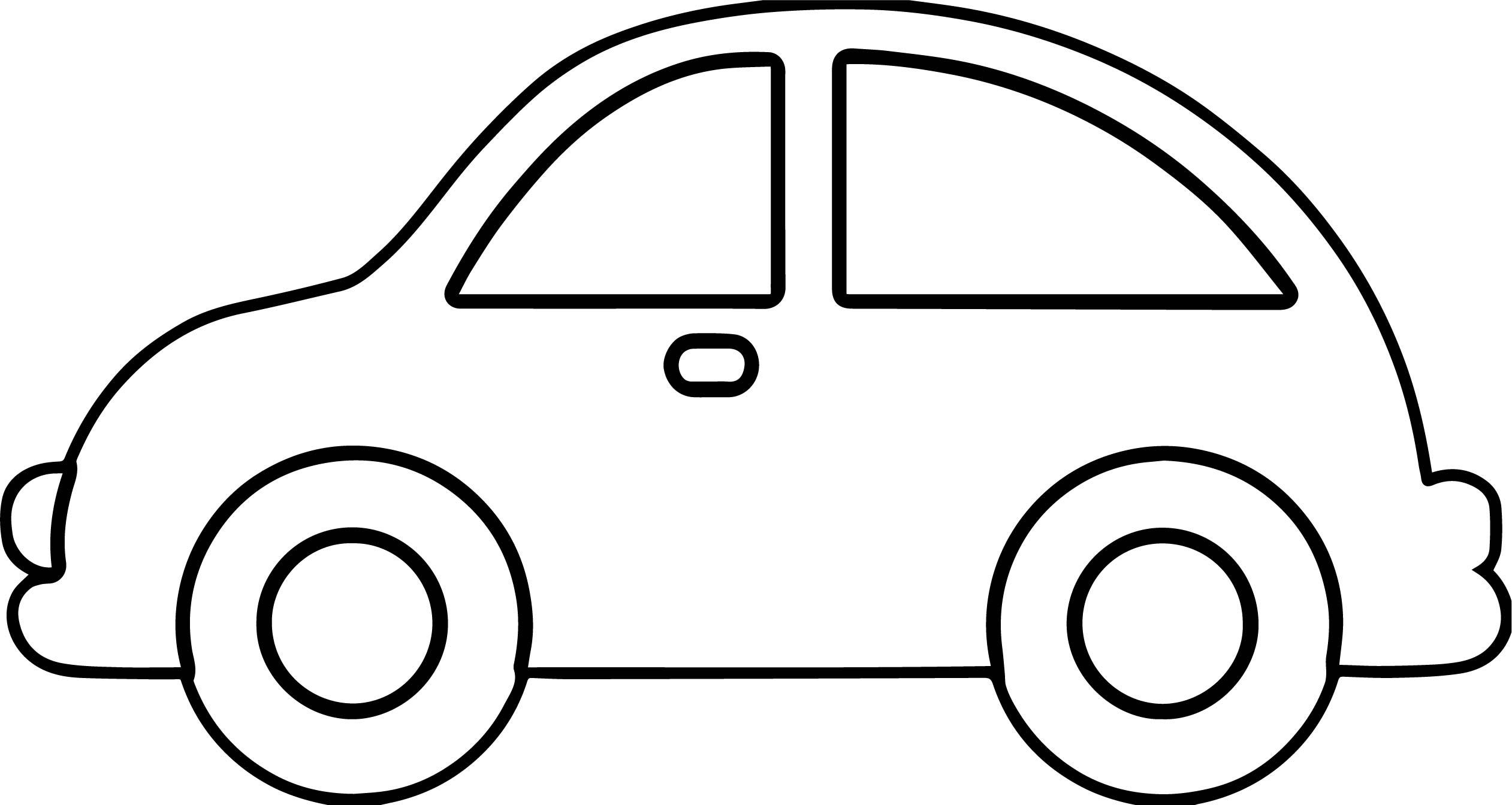Car Clipart Outline.