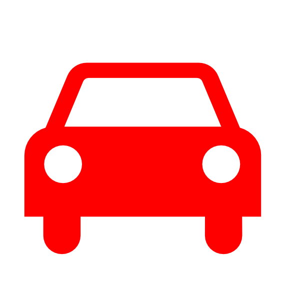 Red Car Silhouette Clip Art at Clker.com.