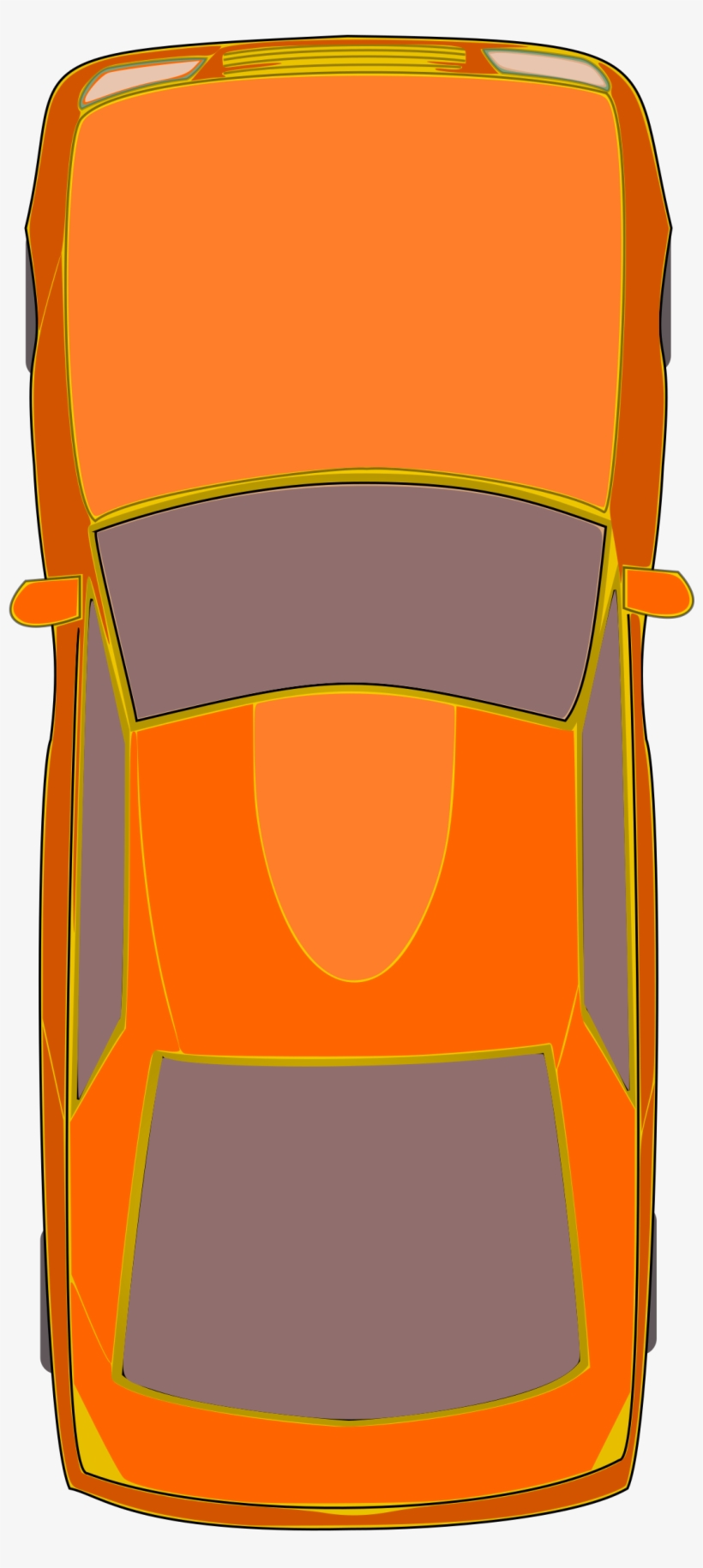 Clipart Orange Rental Car Key Icon Royalty Free Vector.