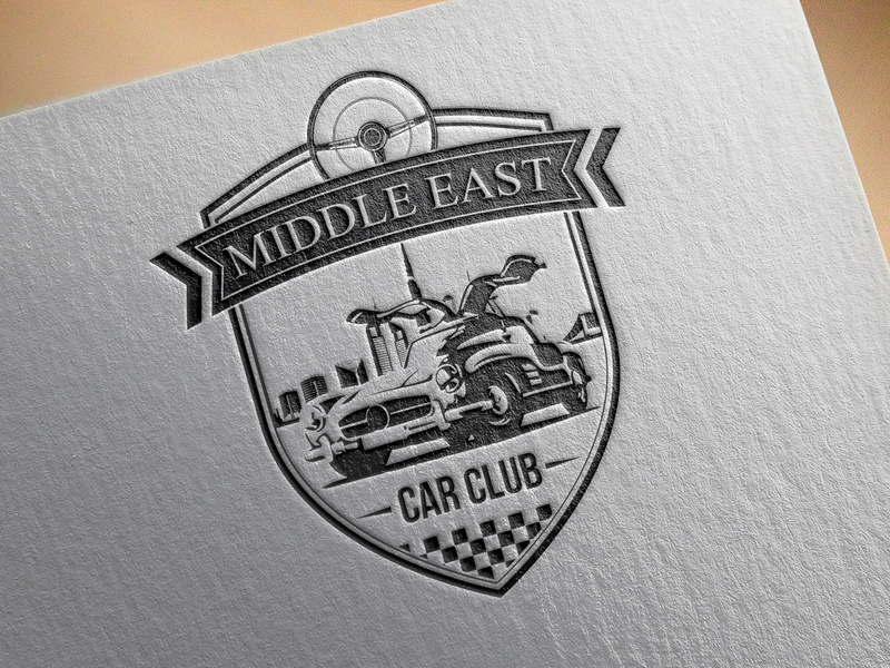 Middle East car club logo by Ayoub MOSLIH on Dribbble.
