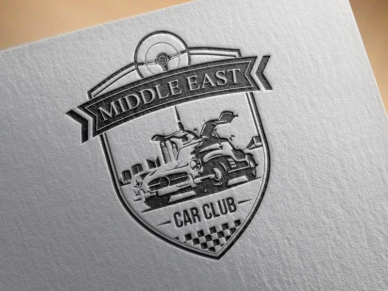 Middle East car club logo by Ayoub MOSLIH on Dribbble.
