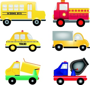 Vehicles Clipart Image.