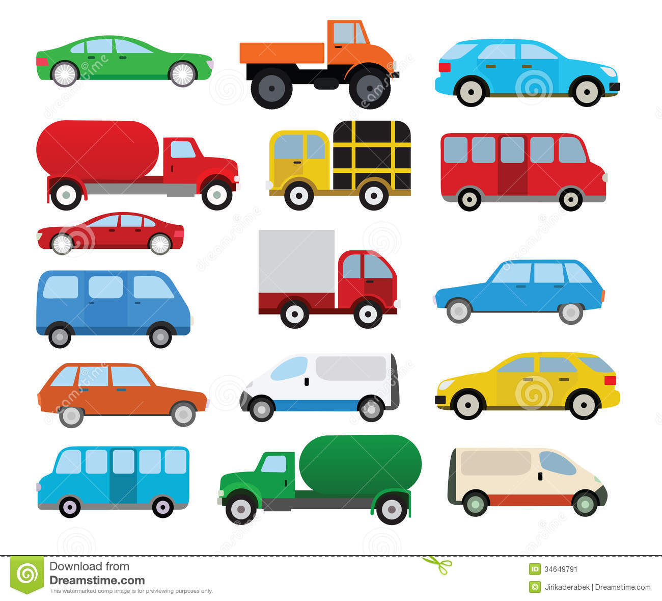 Cars Collection Stock Image.