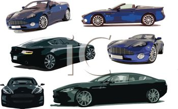 Luxury Sports Car Collection.