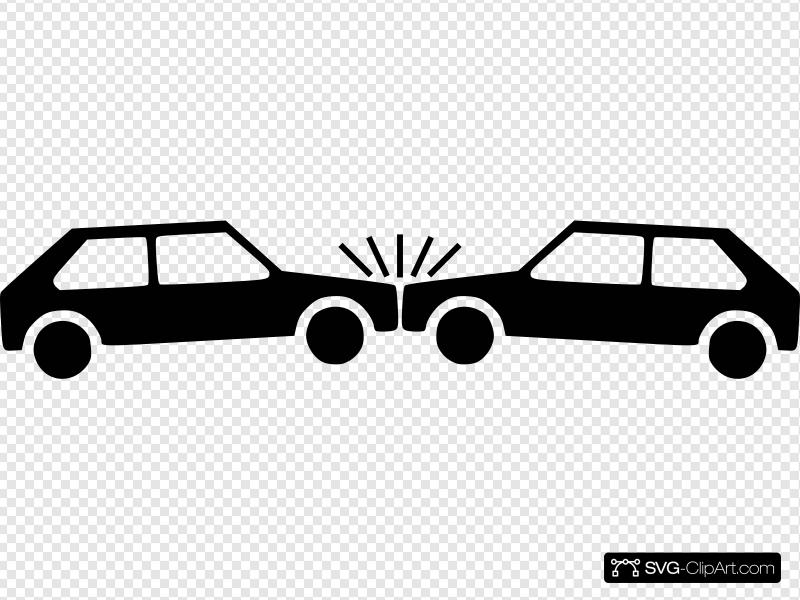 Car Accident Clip art, Icon and SVG.