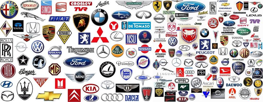 Origins of Car Company Logos.