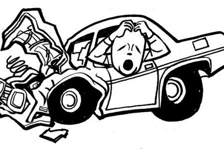 Crashed Car Cliparts.
