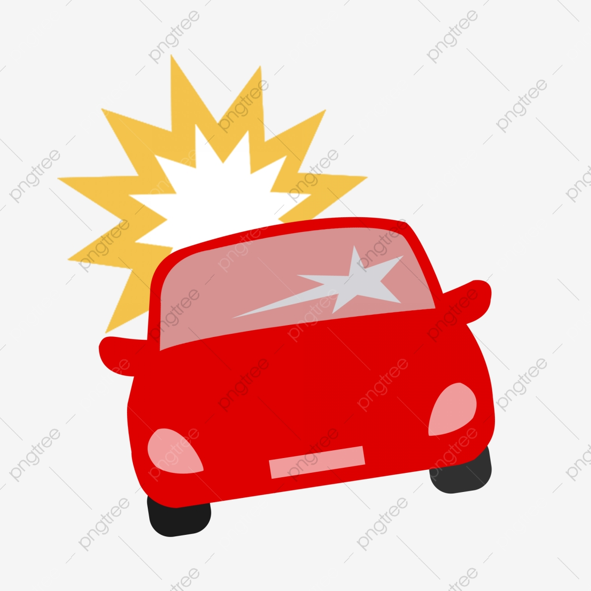 Car Crash Picture, Car Accident, Damage, Traffic Safety PNG.