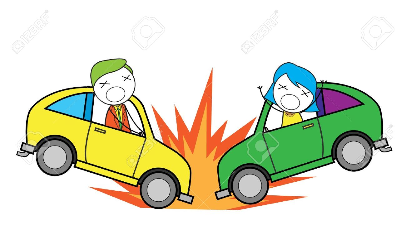 Car Crash Clipart Transparent Background.