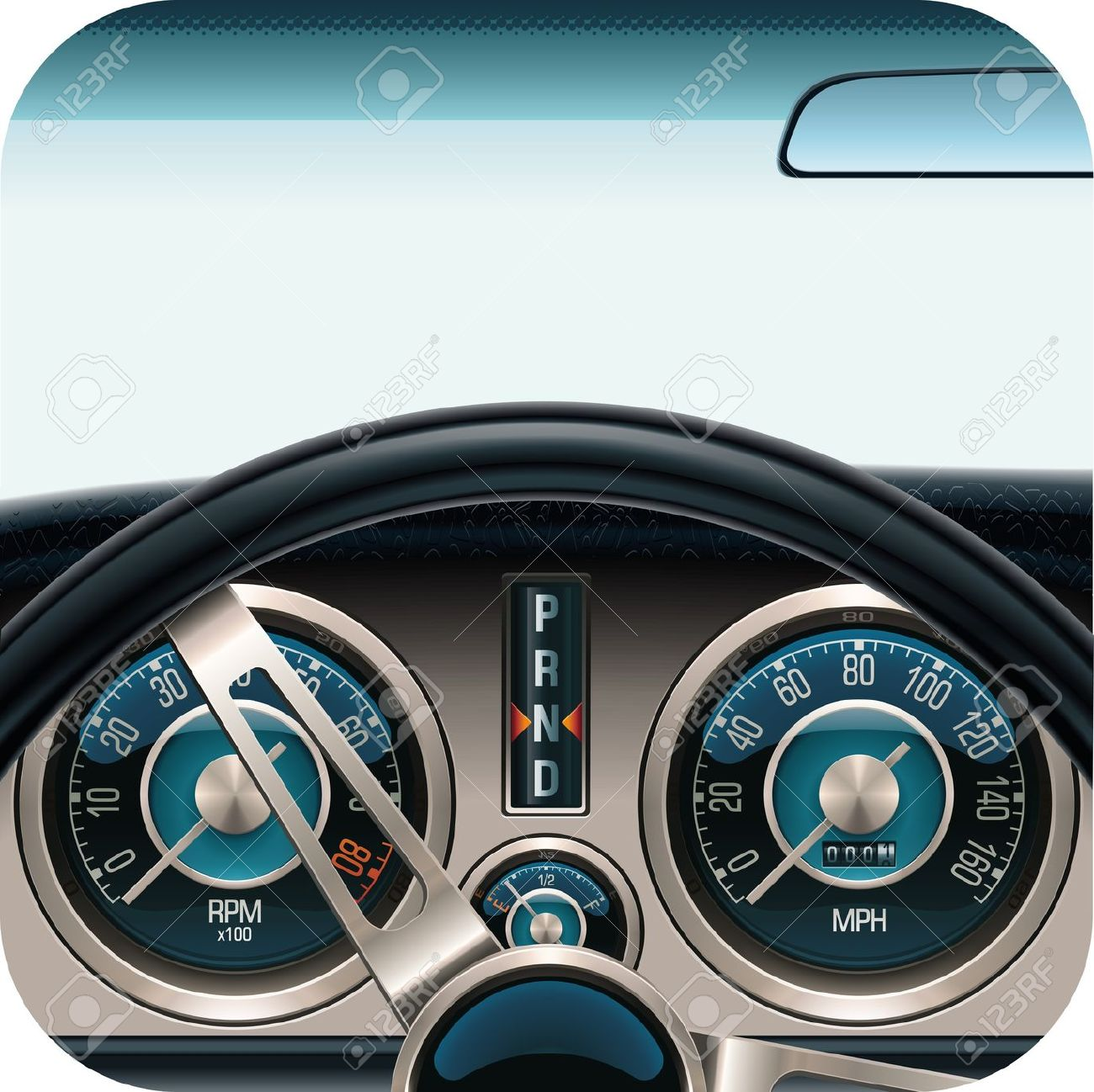 Showing post & media for Cartoon automobile dashboard.