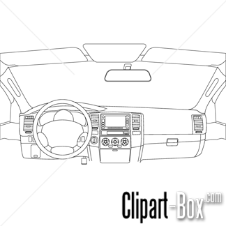 CLIPART CAR DASHBOARD.