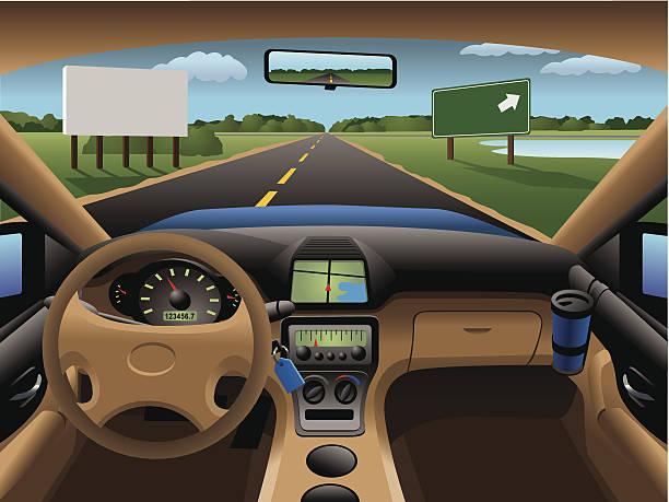 Best Car Dashboard Illustrations, Royalty.