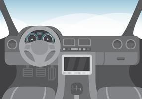 Car Dashboard Free Vector Art.
