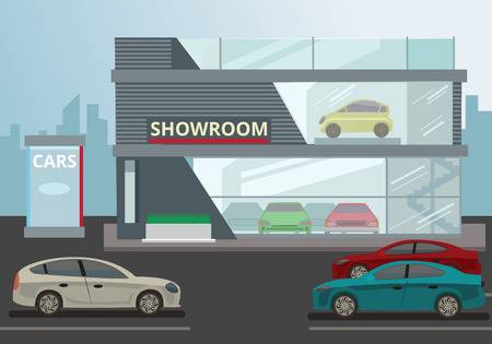 1,641 Car Showroom Stock Vector Illustration And Royalty Free Car.