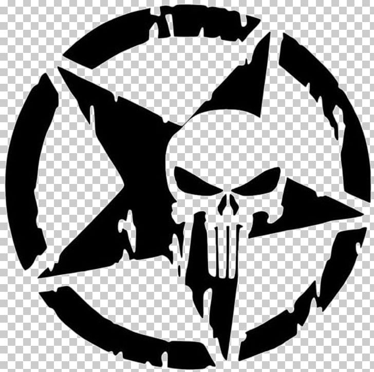Punisher Car Decal Sticker Hello Kitty PNG, Clipart, Artwork, Black.