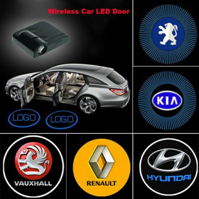 4PCS Car Door Light LED Logo Projector Ghost Shadow Laser Lights Lamp  Renault UK.
