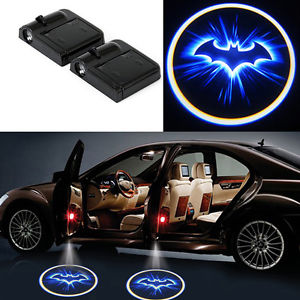 Details about 2 x Wireless Car Door Led Logo Welcome Laser Projector Ghost  Shadow Light Batman.