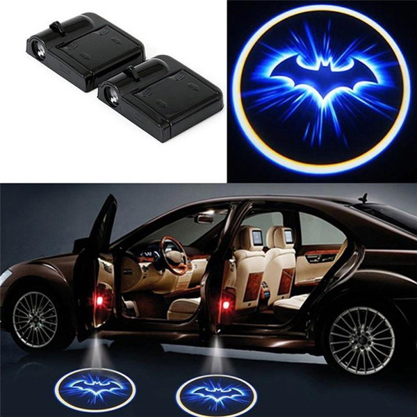 2019 Car Door Logo Projector Lights Wireless LED Light Welcome Lamp  Projector Cool Logo Ghost Shadow Batman Logo From Hobo068, $14.08.