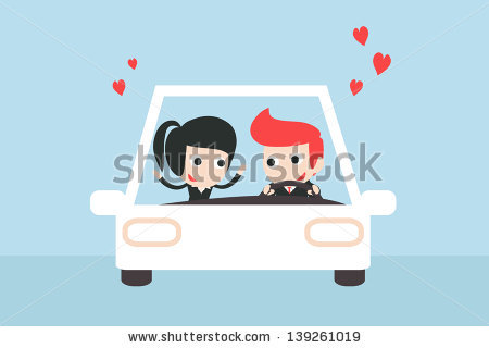 Woman Driving Car Stock Vectors, Images & Vector Art.