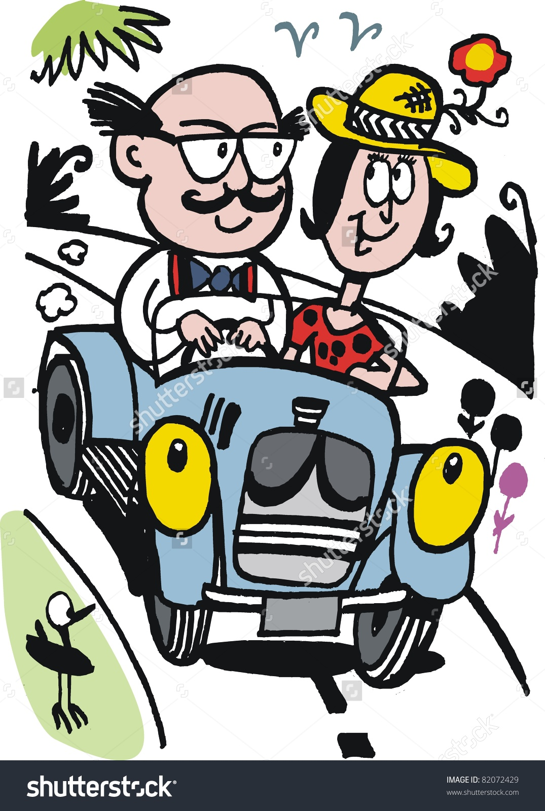 Showing post & media for Couples driving cartoons.