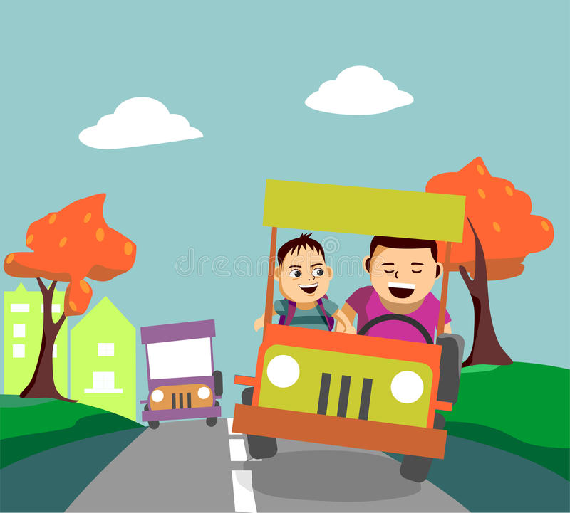 Free Clipart Car Driving Stock Illustrations.