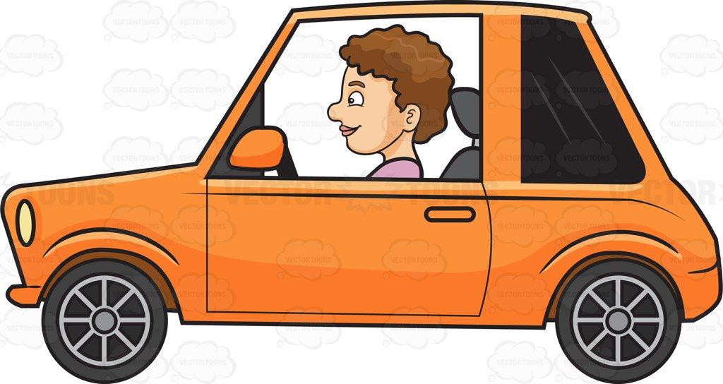 Car Driving Clipart.