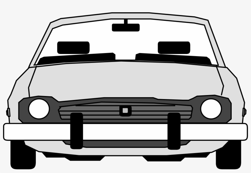 Car Elevation Front View Transparent PNG.