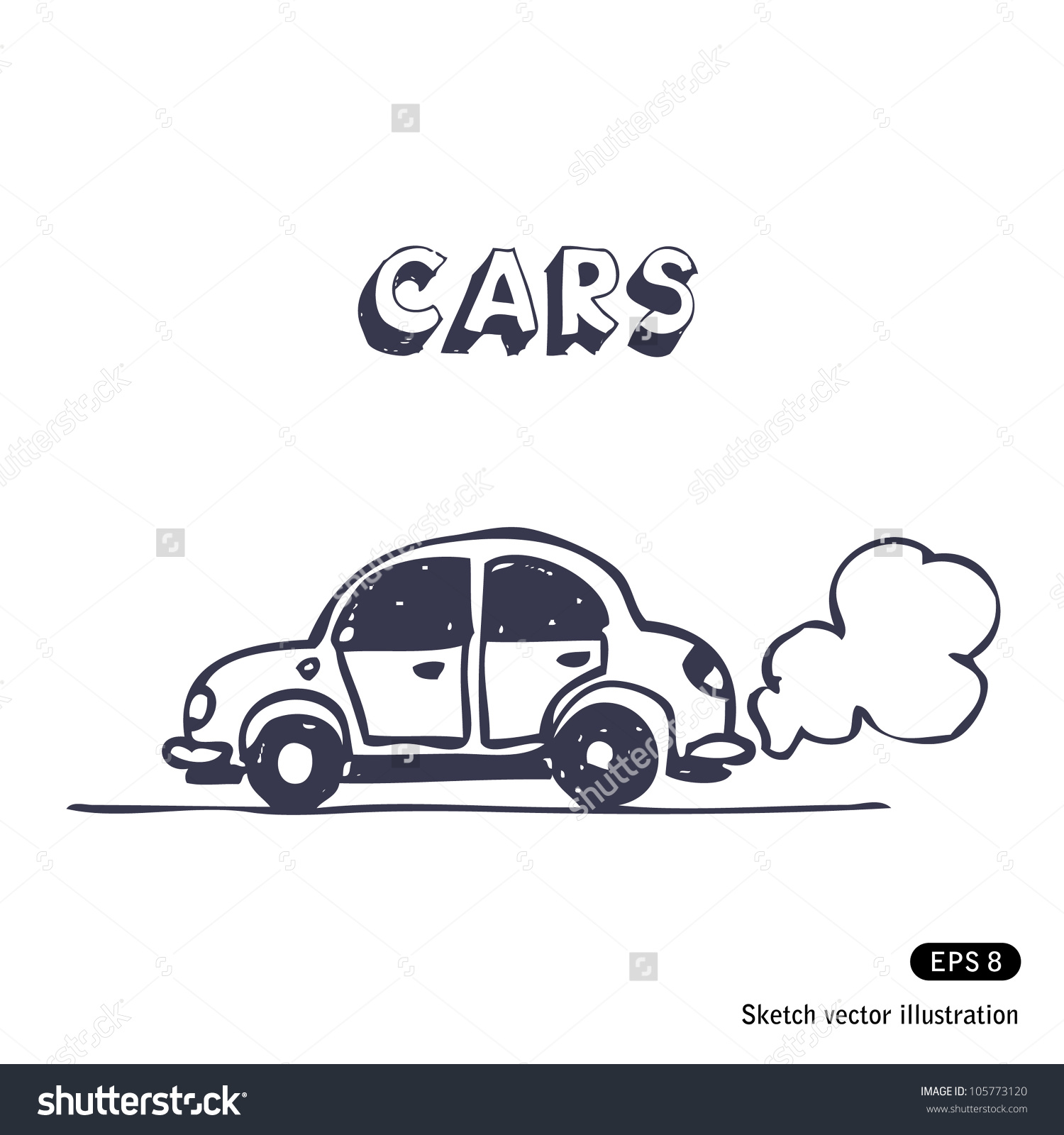 Showing post & media for Cartoon cars with exhaust.