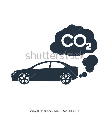 Car Pollution Stock Images, Royalty.