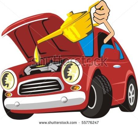 Car Engine Repair Clipart.