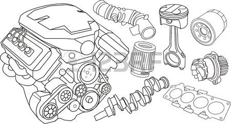 15,136 Engine Parts Cliparts, Stock Vector And Royalty Free Engine.