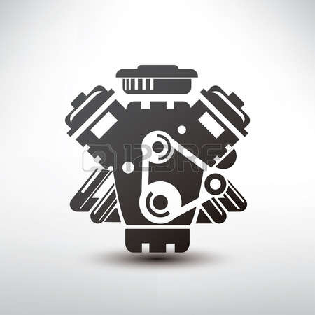 29,702 Car Engine Stock Vector Illustration And Royalty Free Car.