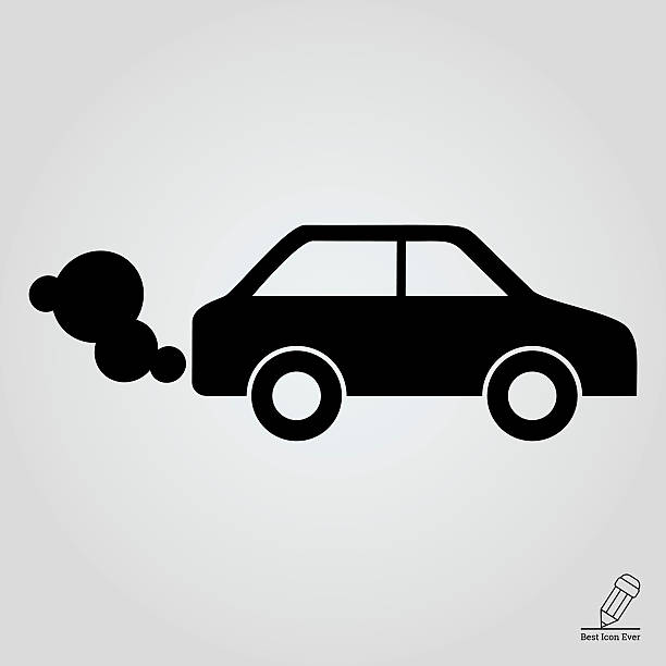 Best Car Exhaust Illustrations, Royalty.