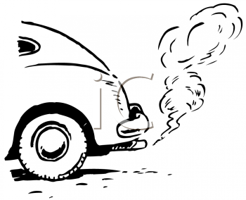 Royalty Free Clipart Image of Car Exhaust #176151.