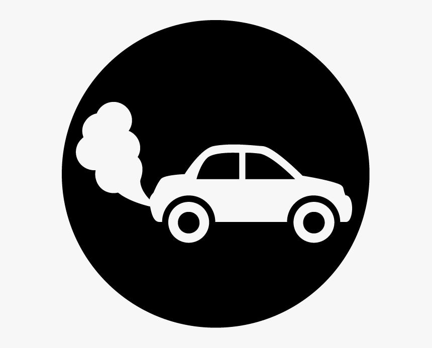 Sucked In Car Exhaust.