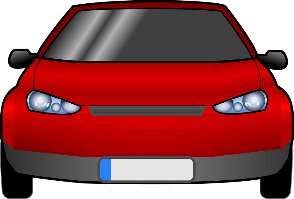 Car Facing Front Transparent Honda Clipart.