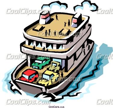 Ferry clip art.