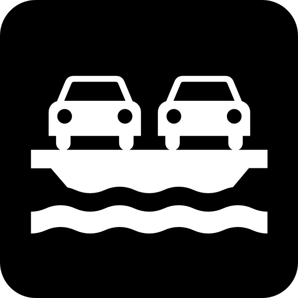 Car Ferry clip art Free vector in Open office drawing svg ( .svg.