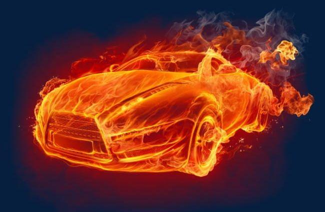 Car Fire Effect PNG, Clipart, Car, Car Clipart, Car Clipart, Car.