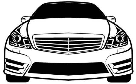 9,645 Front View Of Car Stock Illustrations, Cliparts And Royalty.
