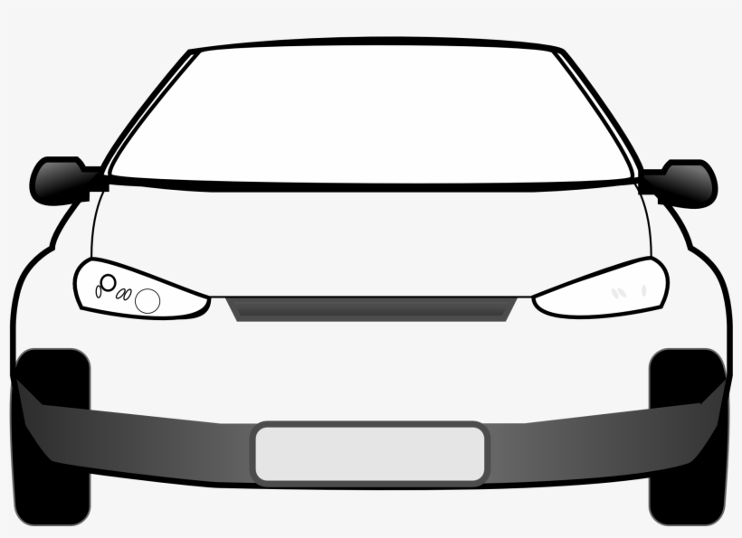 Car Clipart Front.