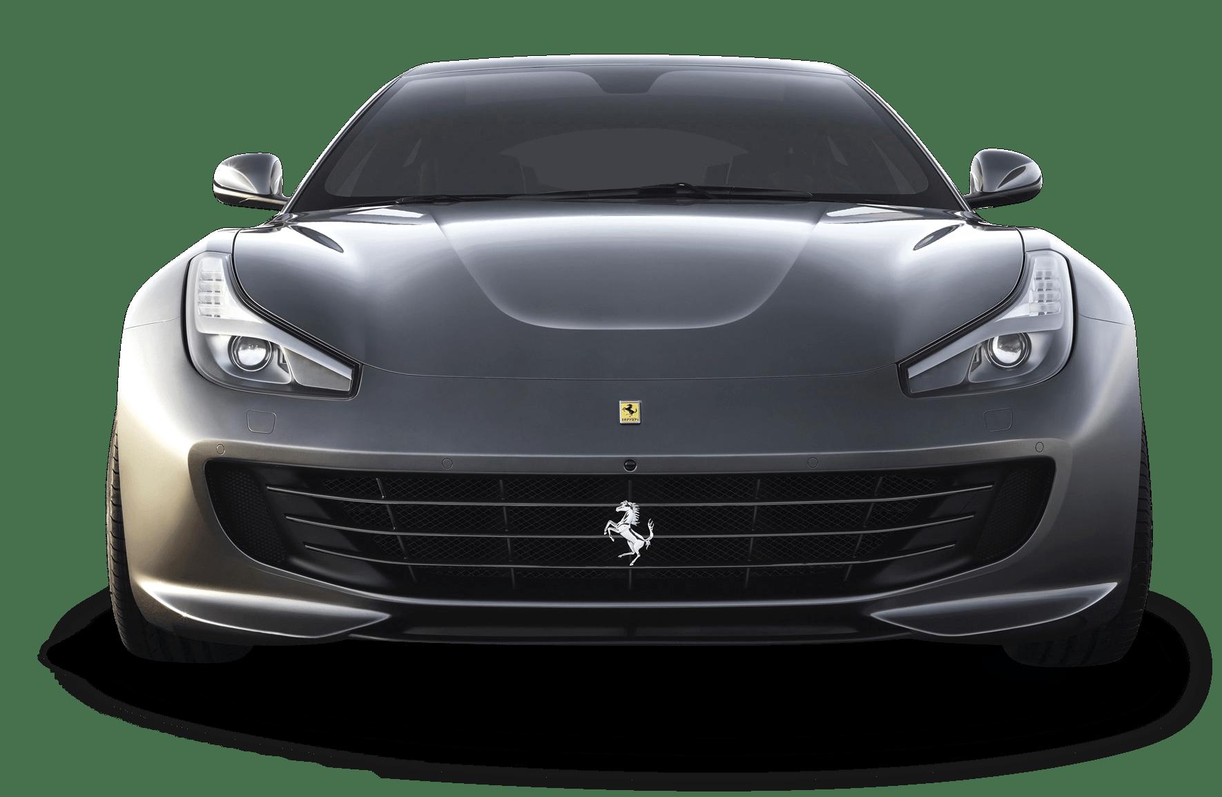 Ferrari Front View transparent PNG.