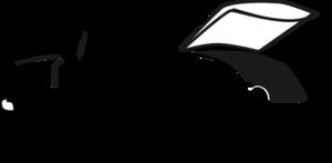 Car With Open Hood Clip Art at Clker.com.