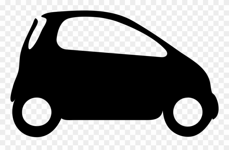 Clipart Transparent Library Smart Car Icon Free.
