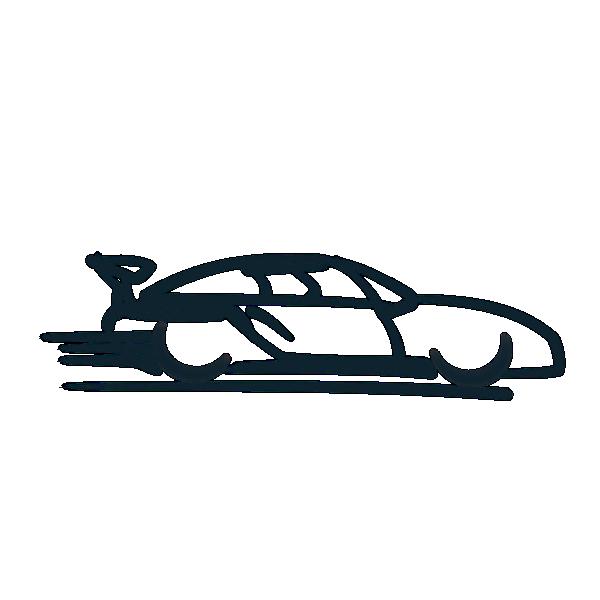 Car Icon clip art.