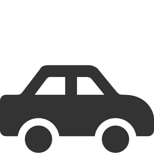 Black simple car icon #12441.
