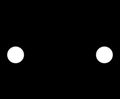Car icon vector clip art.