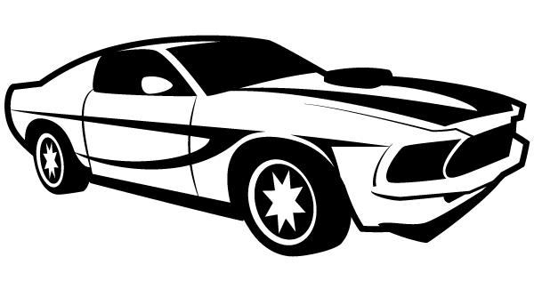 Car Vector Illustrator.