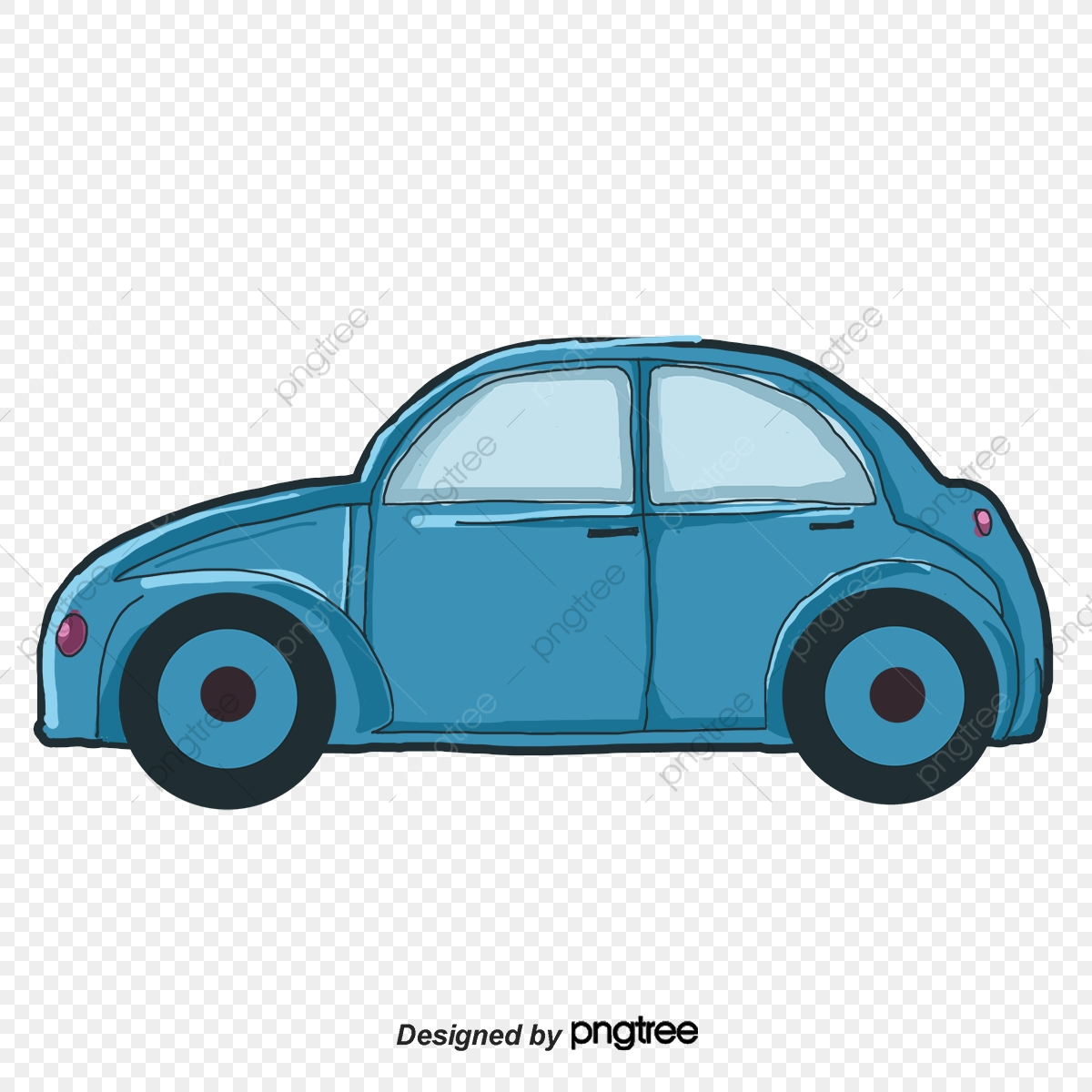 Yellow Car Cartoon Car Classic Cars Car Illustration, Childrens Toy.