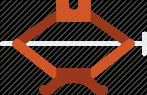 Car, jack, part, vehicle icon.